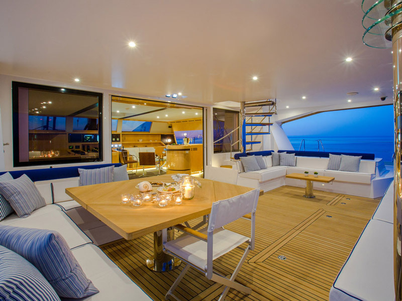 All Yachts Worldwide cruise deck