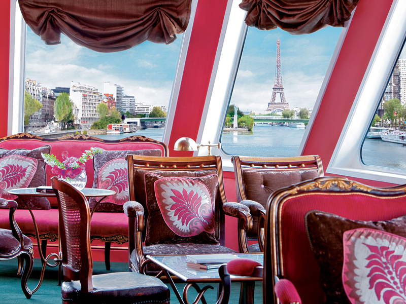 Uniworld boutique river cruise in Paris, France
